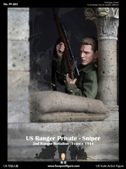 Facepoolfigure FP-003B WWII US RANGER PRIVATE SNIPER 1/6 Figure Special Version