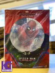 Hot Toys MMS552 Spider-Man Far From Home ( Homemade Suit Version) 1/6th Scale Collectibles Figure