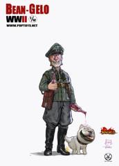 POPTOYS 1/12 Brand Figure BGS004 Bean Gelo WWII