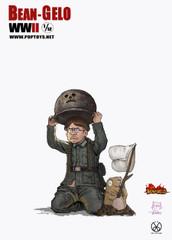 POPTOYS 1/12 Hans Figure BGS006 Bean Gelo WWII