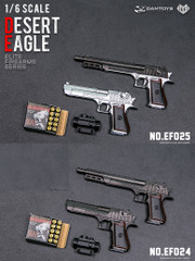 DAMTOYS EF024/EF025 1/6 Scale DESERT EAGLE SET
