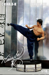 CHINA.X-H Bruce Lee 1/18 Scale ETD Statue