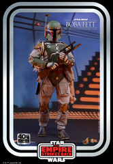 Hot Toys MMS574 Star Wars The Empire Strikes Back - 1/6th scale Boba Fett Collectible Figure (Star Wars: The Empire Strikes Back 40th Anniversary Collection)