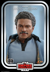 Hot Toys MMS588 Star Wars The Empire Strikes Back - 1/6th Scale Lando Calrissian Collectible Figure (Star Wars: The Empire Strikes Back 40th Anniversary Collection)