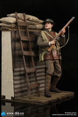 DID WWI Trench 1/6 Scale Diorama Set