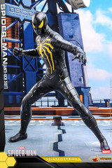 Hot Toys VGM45 Spider-Man Anti-Ock Suit 1/6th Scale Collectible Figure Deluxe Version