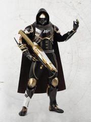 Threezero DESTINY 2 Hunter Sovereign GOLDEN TRACE SHADER