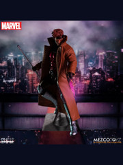 Mezco Toyz One:12 Collective Marvel Gambit Action Figure