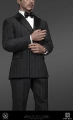 POPTOYS POP-X32 1/6 Scale Men's Striped suit