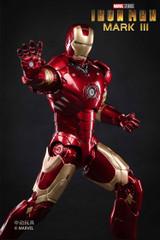 ZD Toys 18cm Iron Man Mark III Figure Light Up Version
