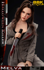 BBK BBK008 MELVA Halloween Killer 1/6 Scale Figure