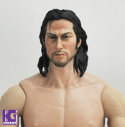 1/6 Action Figure Head Sculpt -Japanese Samurai Miyamoto Musashi 宮本武蔵 ver 2