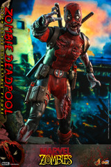 Hot Toys CMS06 Marvel Zombies 1/6th scale Zombie Deadpool Collectible Figure