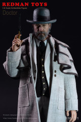 REDMAN TOYS RM051 Django Doctor  1/6 Collectible Figure
