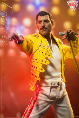 Win.C Studio 1/6 Freddie Yellow Jacket Costume and Head Sculpt Set WC001A