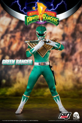 Threezero Mighty Morphin Power Rangers 1/6 Green Ranger