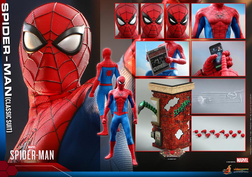 vgm48 spider-man classic suit