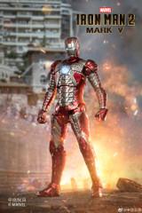 ZD Toys Iron Man 2 Mark V MK5 Figure 18cm
