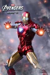 ZD Toys Iron Man 2 Mark VI MK6 Figure 18cm