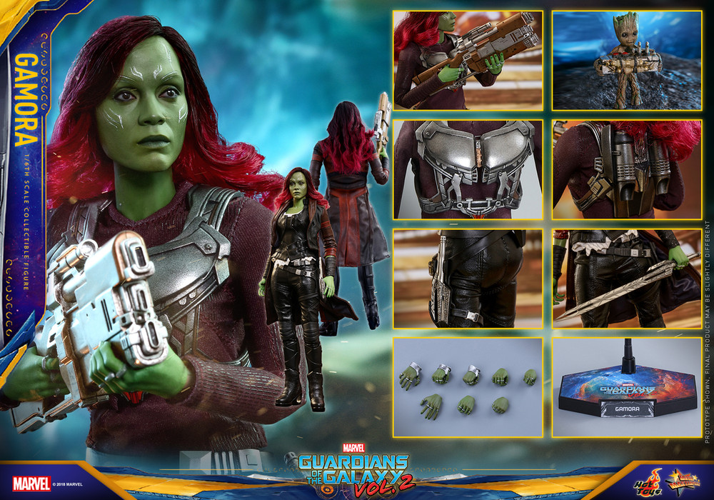 Hot Toys MMS483 Gamora Guardians of the Galaxy Vol. 2