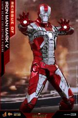 Hot Toys Iron Man 2 Iron Man Mark V Diecast MMS400D18B Reissue
