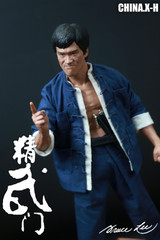 CHINA.X-H Fist of Fury CX-H 04 Bruce Lee 81th Anniversary  1/6 statue