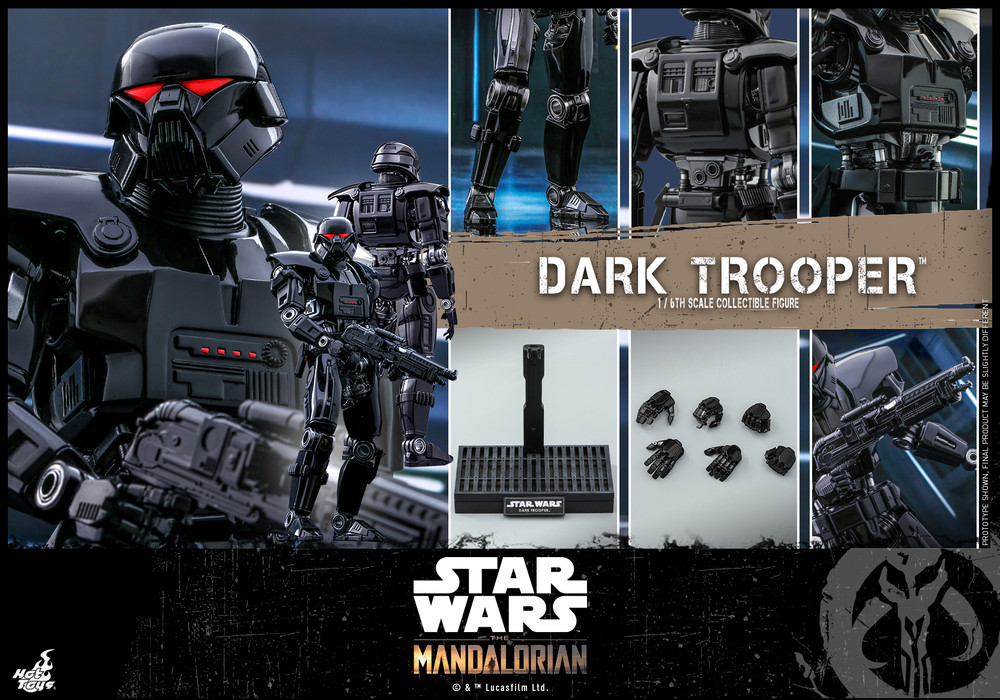 Hot Toys Dark Trooper TMS032 Star Wars™ The Mandalorian™