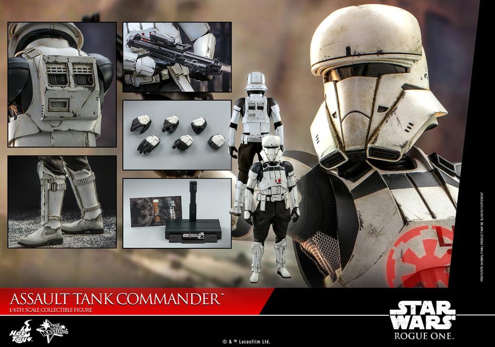 Hot Toys Star Wars: Rogue One™ Assault Tank Commander MMS593