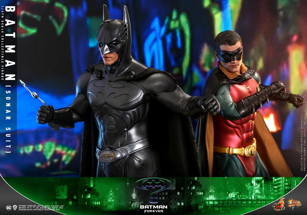 Hot Toys batman forever Batman and Robin