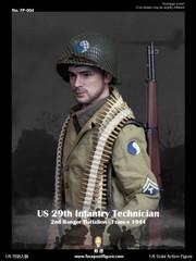 Facepoolfigure US 29th Infantry Technician France 1944 FP004A Standard Edition
