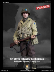 Facepoolfigure US 29th Infantry Technician France 1944 FP004B Special Edition