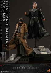 Hot Toys Zack Snyder's Justice League Knightmare Batman and Superman Collectible Set TMS038