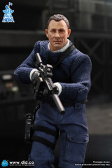 DID XK80003 1/12 PALM HERO MI6 Agent Jack Figure