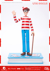 Blitzway Where's Wally? 1/12 scale action figure Normal Version 5PRO-MG-20302