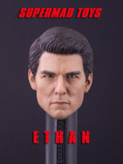SUPERMAD TOYS Ethan 1/6 Scale Head Sculpt