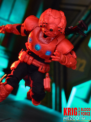 MEZCO ONE:12 Collective Rumble Society Kring : Blood Force Asia Goal Exclusive