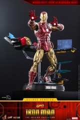 Hot Toys Marvel Comics Iron Man [The Origins Collection] (DELUXE VERSION) 1/6th scale Collectible Figure CMS08D38