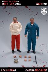 ZEUS TOYS ZT002 1/12 Lecter Figure set