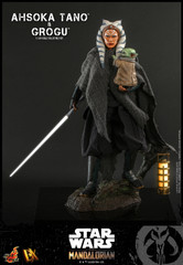 Hot Toys Ahsoka Tano™ & Grogu™Star Wars™ The Mandalorian™  1/6th Scale Collectible Figure DX21