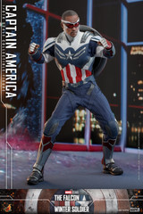 Hot Toys The Falcon and the Winter Soldier TMS040 Captain America Collectible Figure TMS040