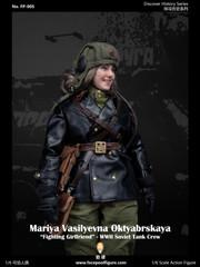Facepoolfigure FP005A 1/6 fighting Girlfriend Mariya Oktyabrskaya Standard Edition