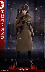 Flagset FS-73040 DPRK North Korea Female Officer