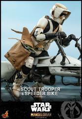 Hot Toys Scout Trooper & Speeder Bike The Mandalorian TMS017