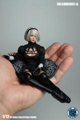 SUPER DUCK 1/12 Scale Sexy Robot Head Sculpt & Costume SDMINI001