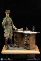 DID 1/6 WWI War Desk Diorama Set E60062