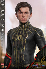 Hot Toys Spider-Man No Way Home (Black & Gold Suit) 1/6 Figure MMS604