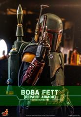 Hot Toys Star Wars: The Mandalorian Boba Fett (Repaint Armor)  1/6 Figure TMS055