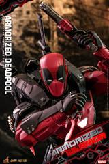 Hot Toys Armorized Warrior 1/6 Armorized Deadpool Collectible Figure CMS09D42