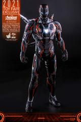 Hot Toys Avengers: Infinity War 1/6 Neon Tech Iron Man 4.0 Figure MMS597D39