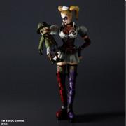 Square Enix Batman Arkham Asylum: Play Arts Kai: Harley Quinn Action Figure